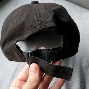 bebe Accessories - BeBe black rhinestone baseball cap!